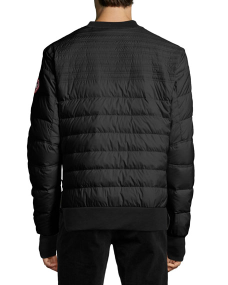 Albany Quilted Shirt, Black