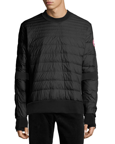 Canada Goose Albany Quilted Shirt, Black