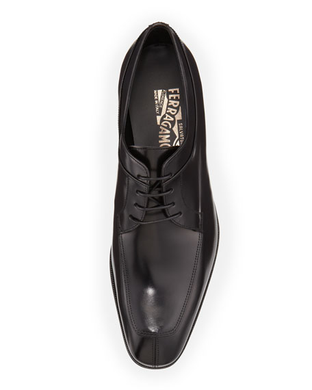 Lace-Up Derby, Black
