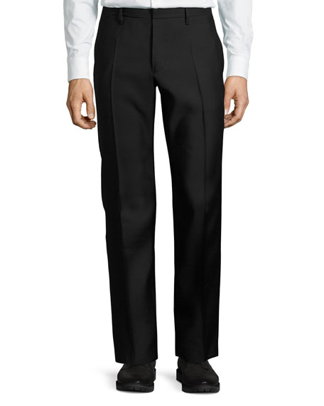 Dsquared2 Formal Tuxedo Pants, Black