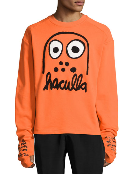 Haculla Battle Buddy Logo Sweatshirt, Orange