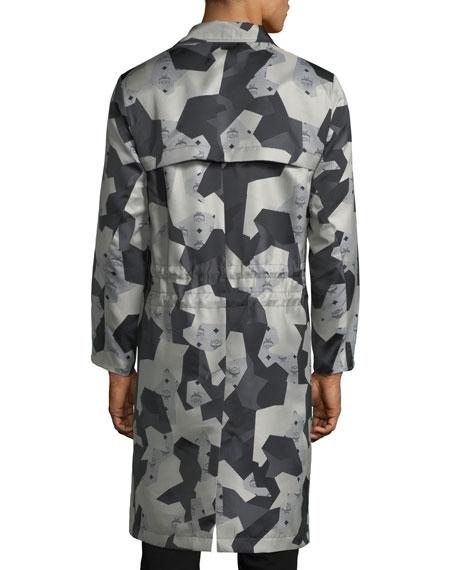 x CR Collection Splinter Camo Visetos Trench Coat