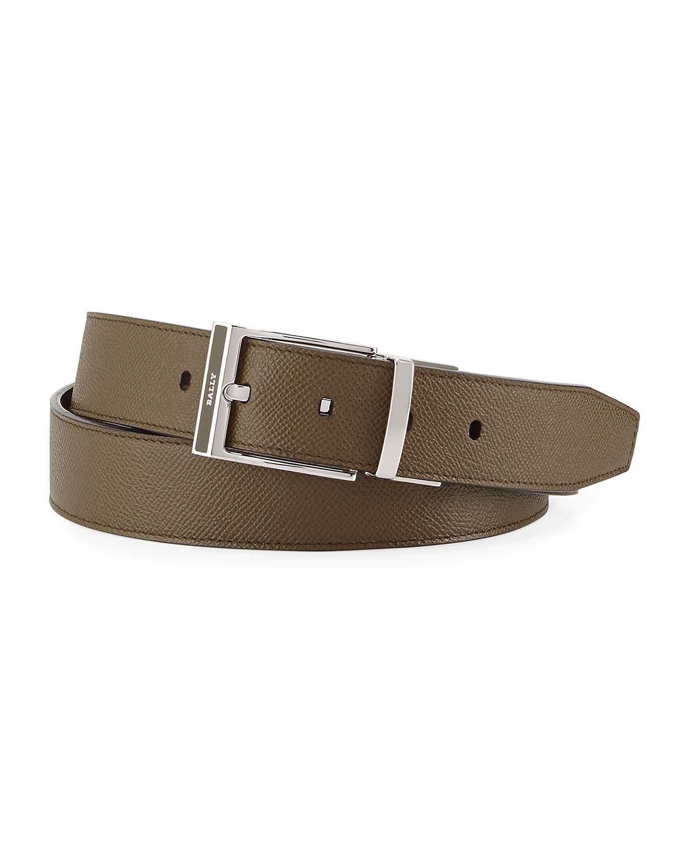 Bally Shiff Reversible Leather Belt 1fe4ce640efd