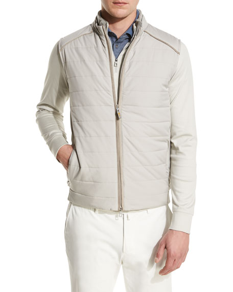 Loro Piana Ryder Cup Storm System Quilted Vest,