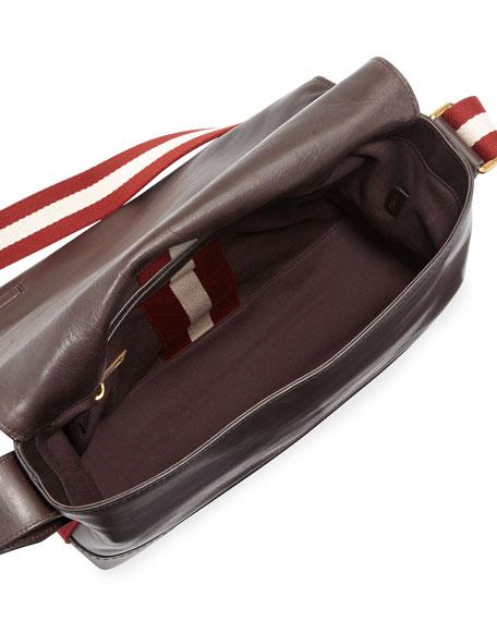 Tamrac Men's Leather Messenger Bag, Brown