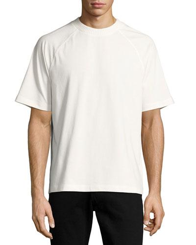 Arrow-Print Raglan T-Shirt, Beige