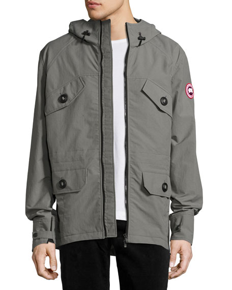 Canada Goose Redstone Wind-Resistant Jacket, Pewter