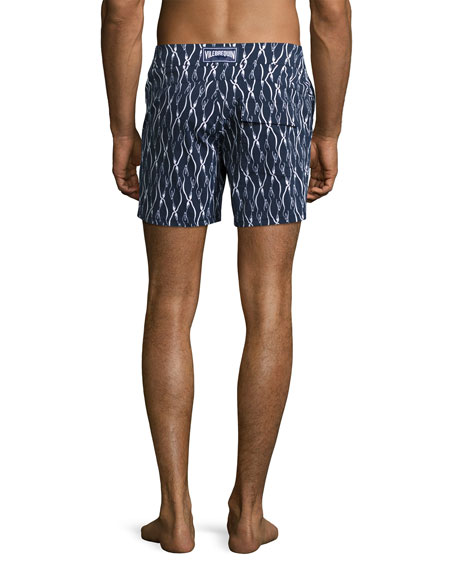 Superflex Emperor Penguins Merise Swim Trunks, Navy