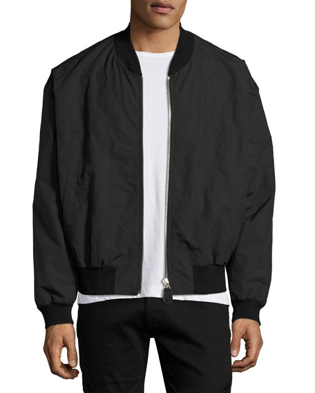 Maison Margiela Tech Bomber Jacket, Black