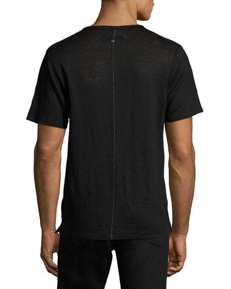 Owen Cotton Pocket Crewneck T-Shirt