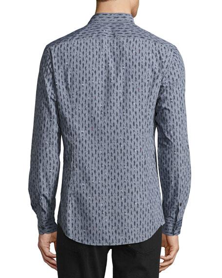 Men's Passerby Cotton Sport Shirt, Gray