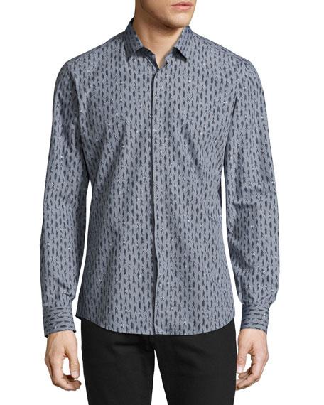 Passerby Cotton Sport Shirt, Gray