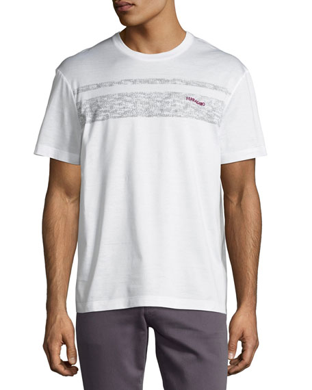 Salvatore Ferragamo Ferragamo Cotton Logo T-Shirt