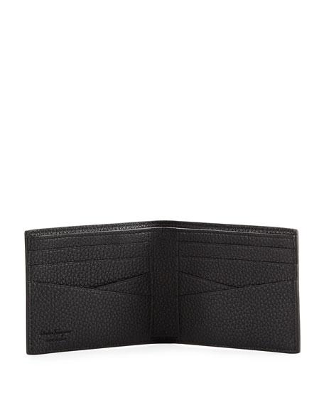 Firenze Leather Bi-Fold Wallet, Black