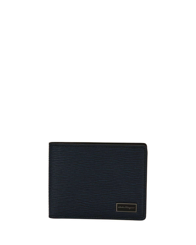 30b792264e2ed Salvatore Ferragamo Men s Revival Bi-Fold Leather Wallet