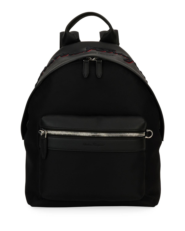 1d9eec7f16 Salvatore Ferragamo Ferragamo-Embroidered Backpack