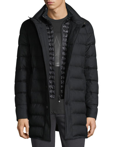 Men's Parka, Quilted & Other Jackets at Neiman Marcus : mens long quilted jacket - Adamdwight.com