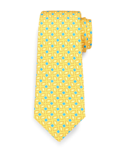 Box Neat Tie, Yellow