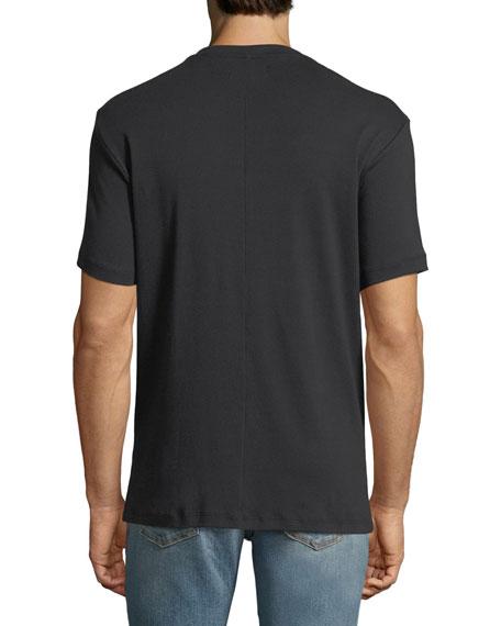 Short-Sleeve Jersey Henley T-Shirt