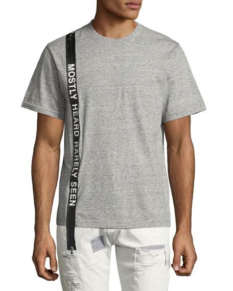 Logo Banner T-Shirt, Light Gray
