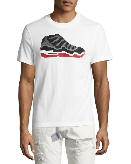 Dunk 8-Bit Sneaker T-Shirt, White