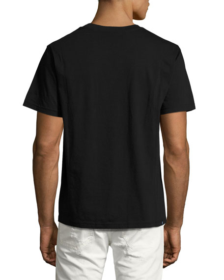 Carpet Face T-Shirt, Black