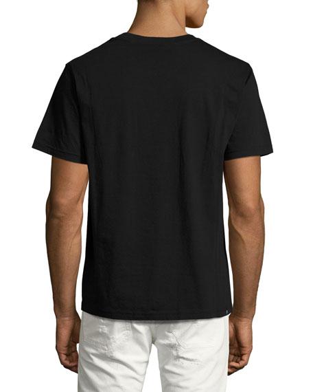 Carpet Face T-Shirt, Black