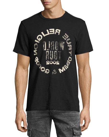 Selfie Logo Men's T-Shirt, Black