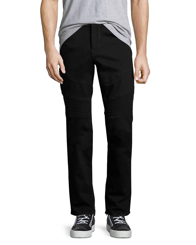 34fac8cfdaf True Religion Rocco Skinny Stretch-Denim Moto Jeans