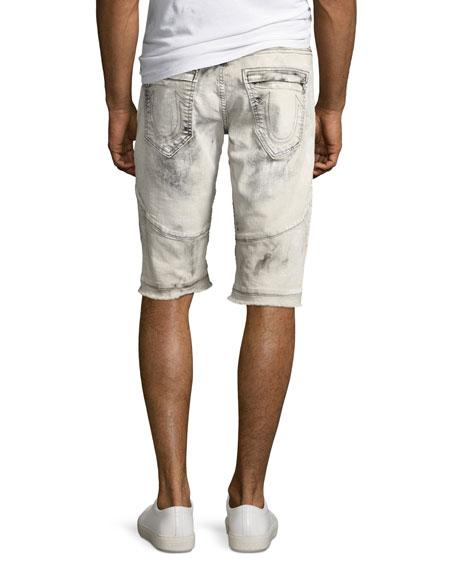 Geno Moto Distressed Denim Cutoff Shorts, Bronx