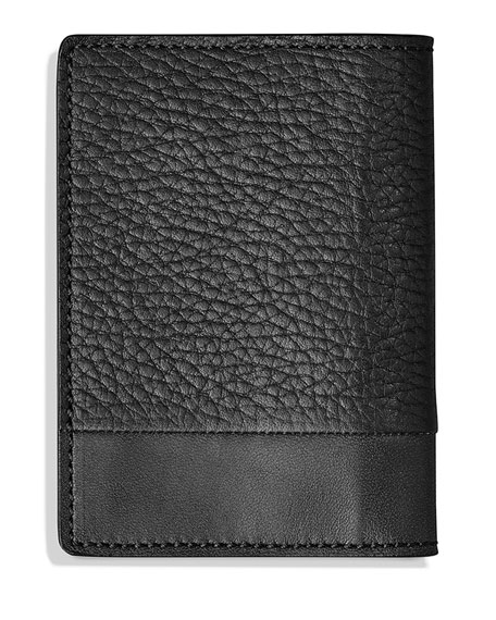 Bolt Fold Leather Card Case