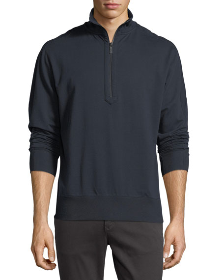 Microlight Tech French Terry Half-Zip Pullover