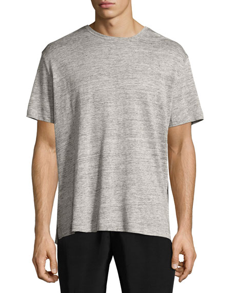 ATM Anthony Thomas Melillo Linen Relaxed-Fit Crewneck T-Shirt,