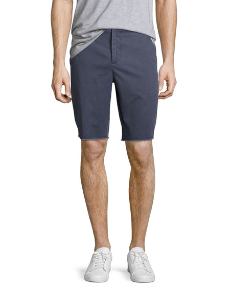 ATM Anthony Thomas Melillo Sun-Bleached Twill Shorts with