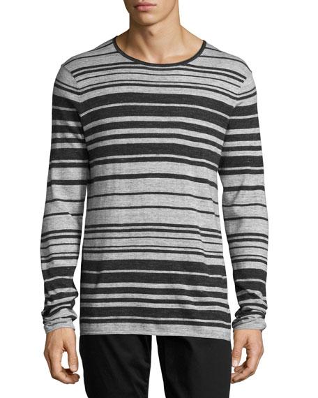Jasper Long-Sleeve Striped T-Shirt, Multi