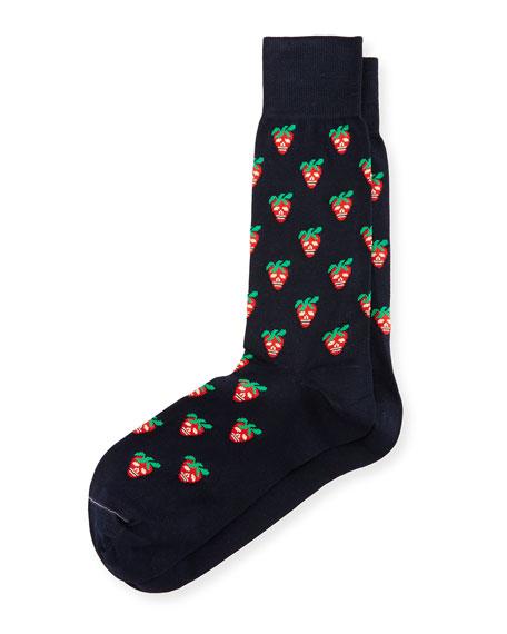 Paul Smith Mini Strawberry Skull Socks