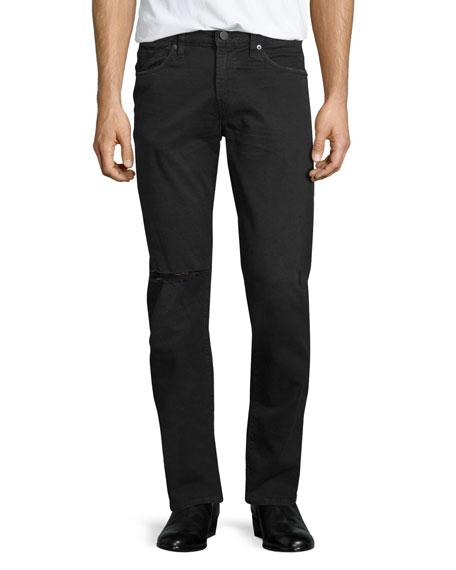J Brand Tyler Torn & Thrashed Denim Jeans,