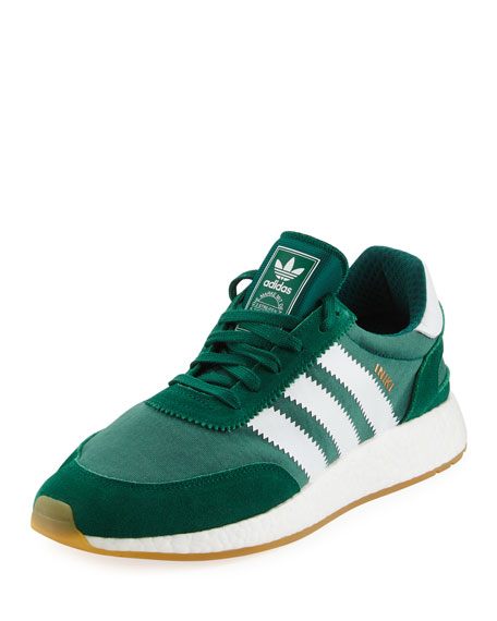 Adidas Men's Iniki Running Shoe, Green