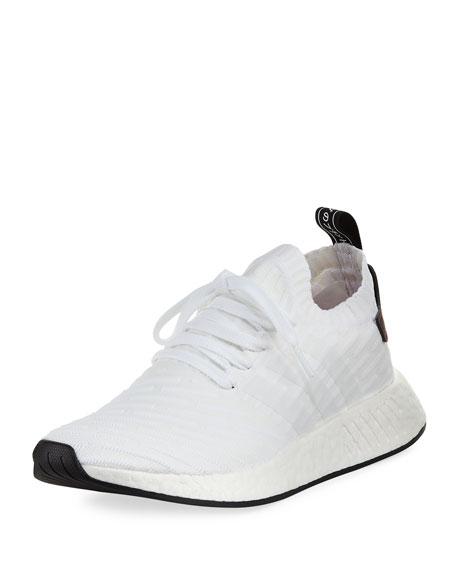 Adidas Men's NMD_R2 PK Primeknit Trainer Sneaker
