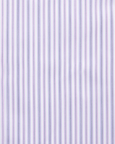 Striped Dress Shirt, Pink/Lavender