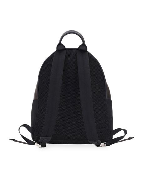 Monster Metal Mirror Eyes Backpack, Black