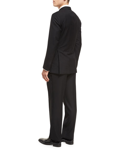 Two-Piece Wool Tuxedo Suit