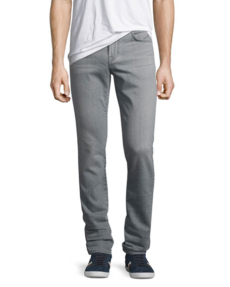Paxtyn FoolProof Skinny Jeans, Light Gray