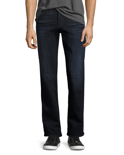Brett Luxe Performance Modern Boot-Cut Jeans, Kilbourne