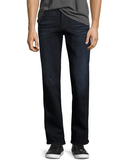 7 For All Mankind Brett Luxe Performance Modern Boot-Cut Jeans ...