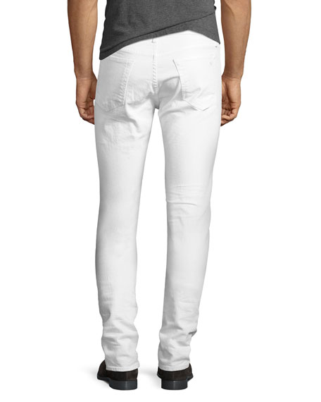 Standard Issue Fit 1 Slim-Skinny Jeans, White