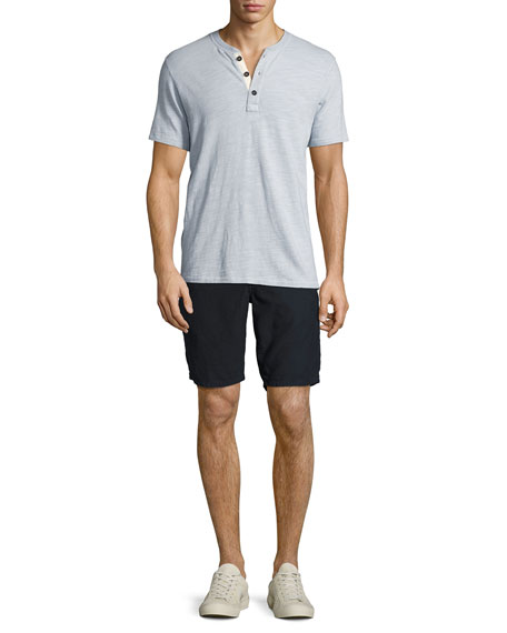 Standard Issue Cotton Shorts, Navy