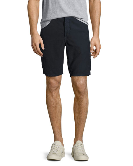 Rag & Bone Standard Issue Cotton Shorts, Navy