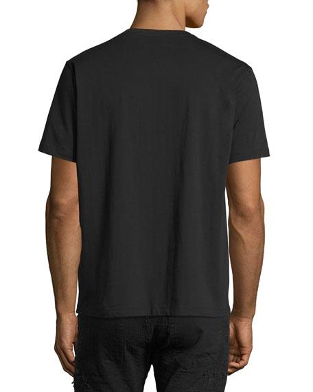 Propulsion Painted Cherub T-Shirt, Black