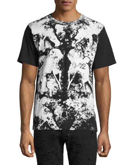 PRPS Propulsion Painted Cherub T-Shirt, Black